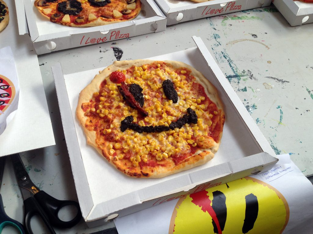 Baked Watch Pizza