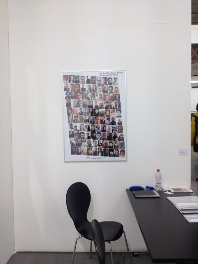 Jonas Lund Cokkie Snoei at Art Rotterdam documentation