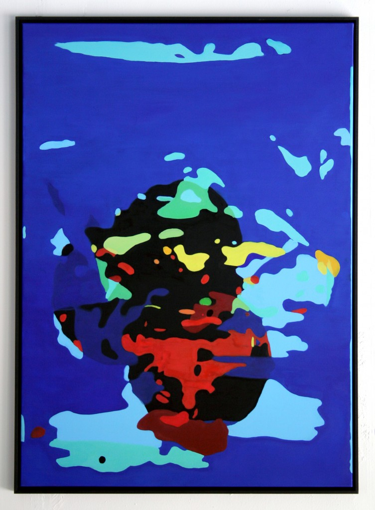 Under The Influence #2, oil on canvas and frame 100x140cm
