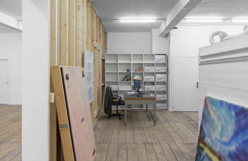 CONTEMPORARY GALLERY Backroom Installation