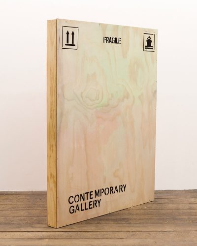 Jonas Lund Contemporary Gallery Shipping Crate