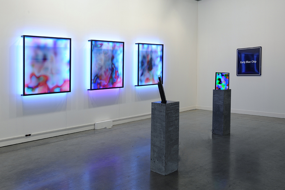 Installation View at MiArt with Steve Turner
