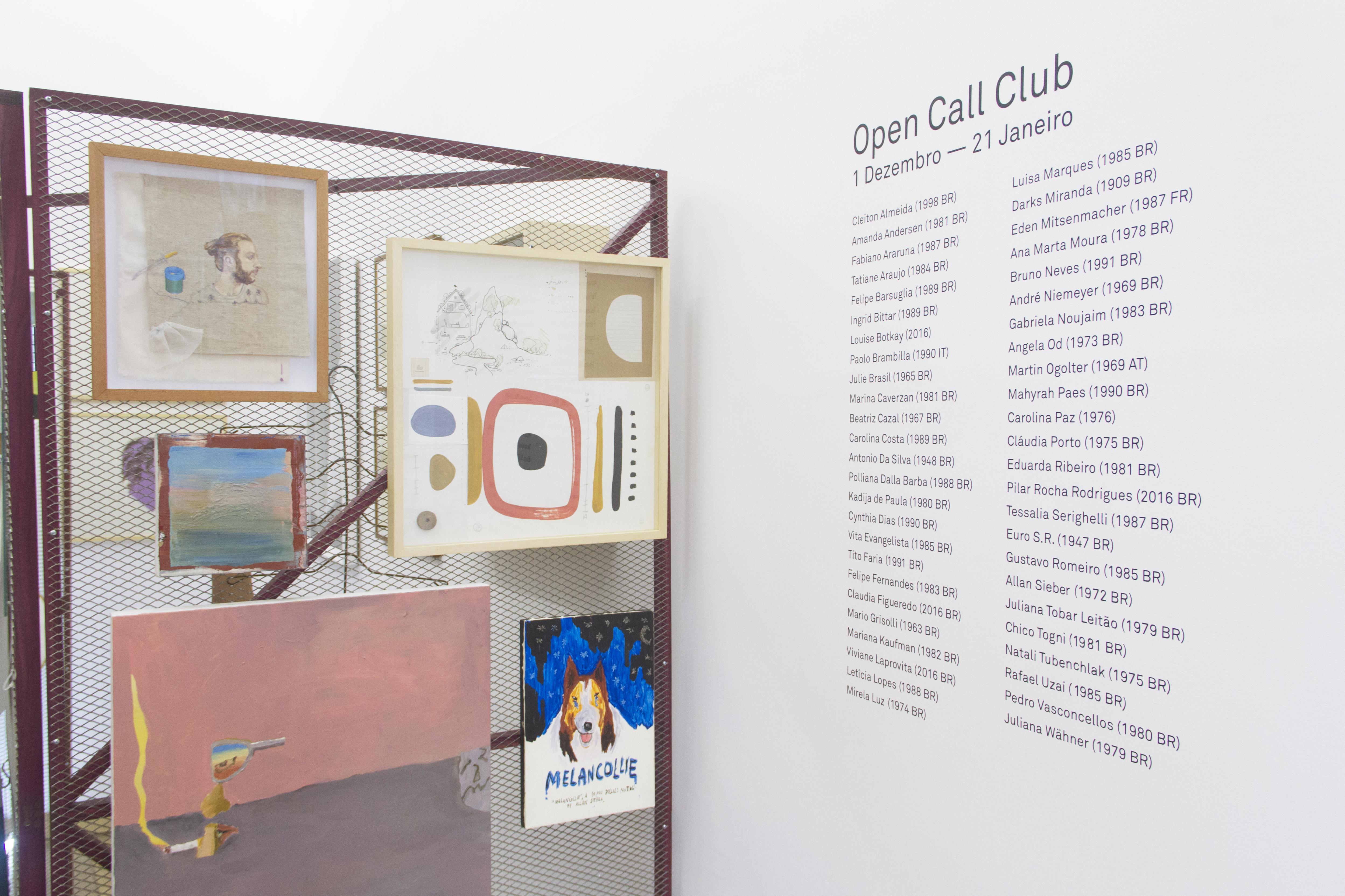 Jonas Lund Open Call Club
