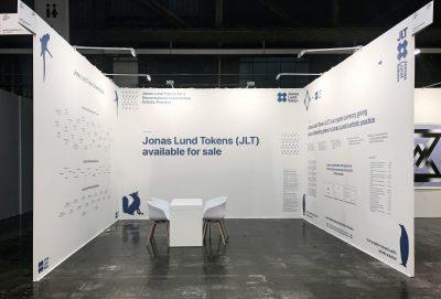 Jonas Lund Jonas Lund Token (JLT) Pre-sale Booth