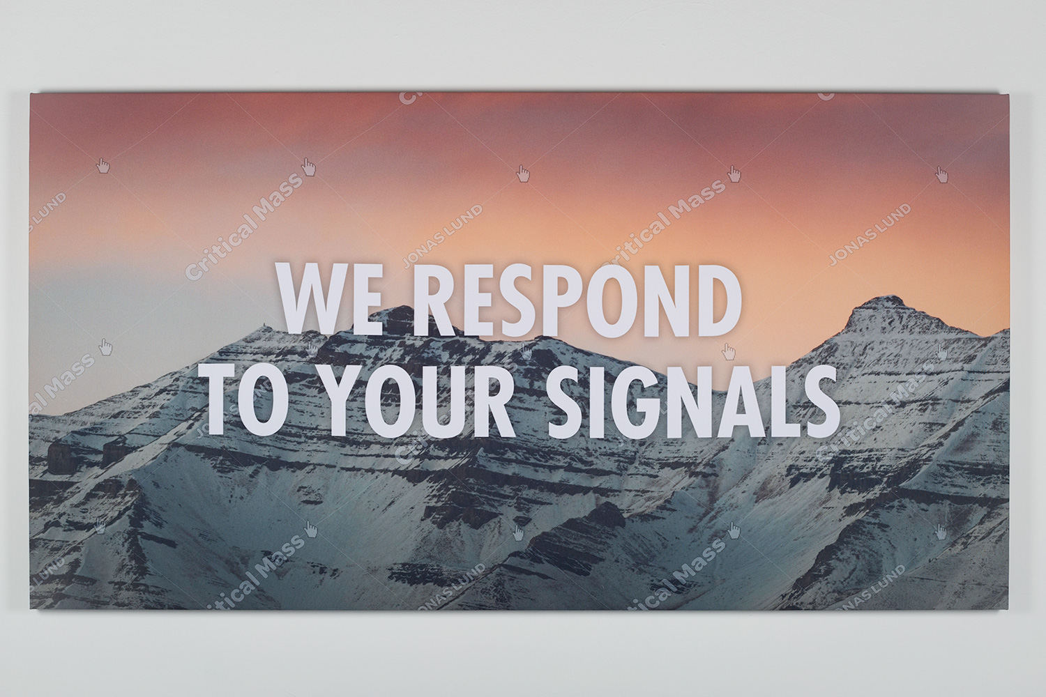 Jonas Lund Critical Mass (We Respond To Your Signals)