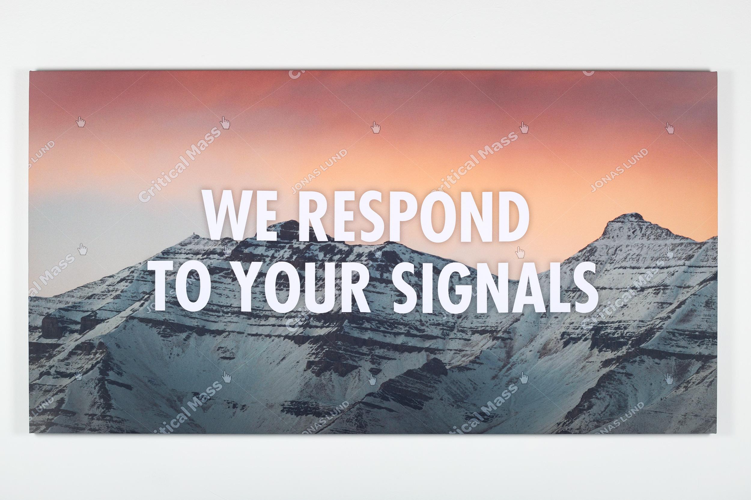 Jonas Lund Critical Mass (We Respond To Your Signals)