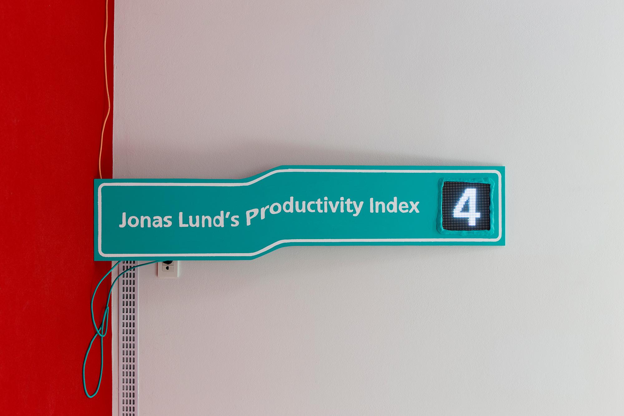 Jonas Lund Jonas Lund's Productivity Index