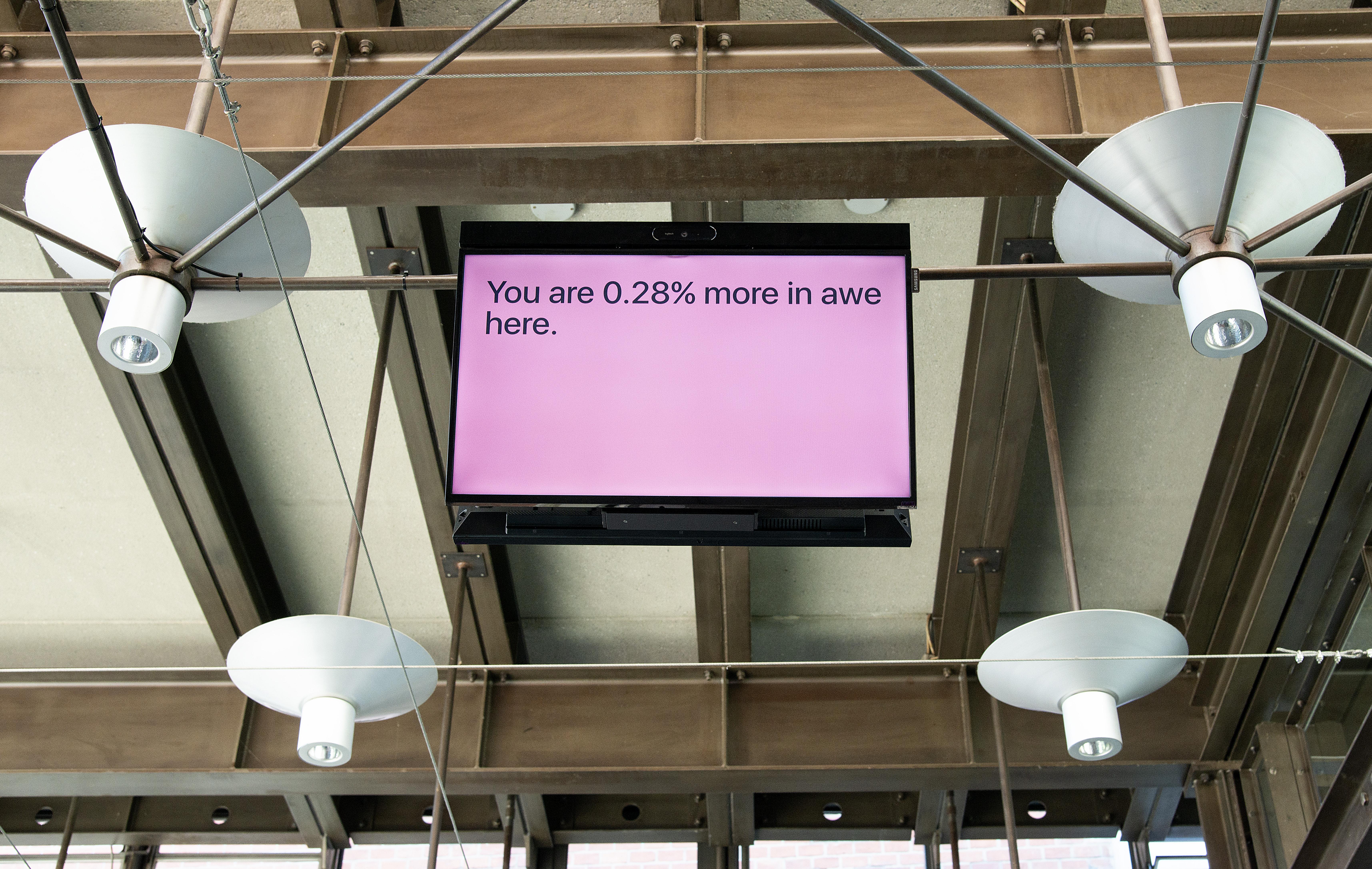 Jonas Lund Uncanny Values, Vienna Biennale